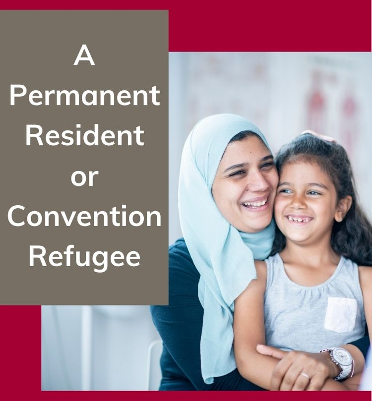 permanent resident or convention refugee