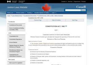 Justice Laws website